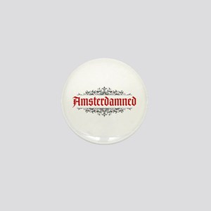 Amsterdamned Mini Button