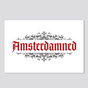 Amsterdamned Postcards (Package of 8)