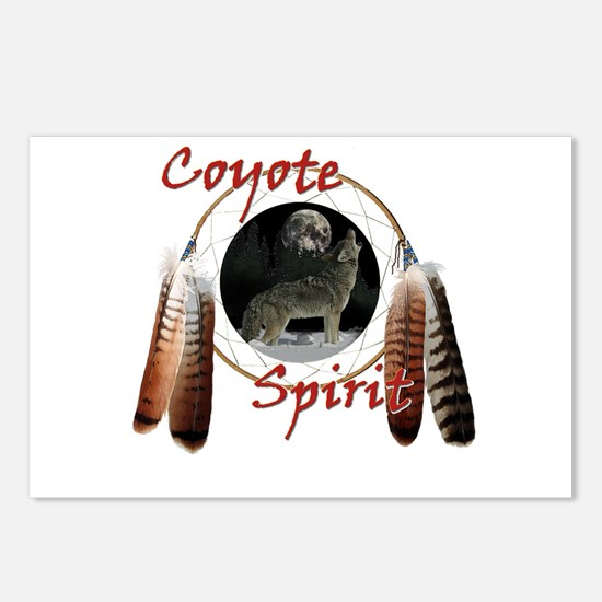 Coyote Spirit Postcards (Package of 8)