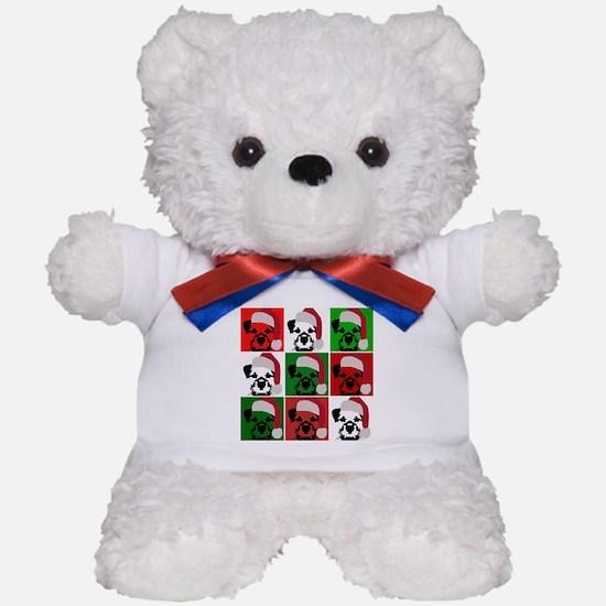 Holiday Pop Art Teddy Bear