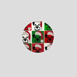 Holiday Pop Art Mini Button