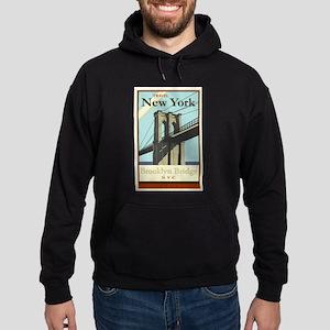 Travel New York Hoodie (dark)