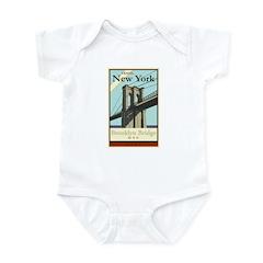 Travel New York Infant Bodysuit