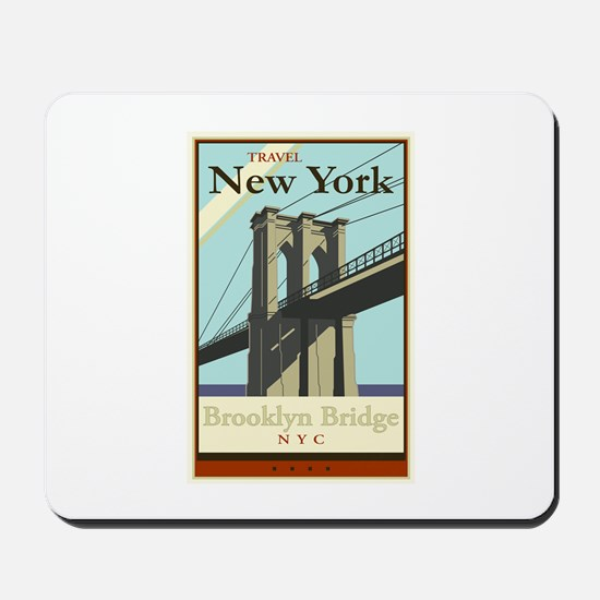 Travel New York Mousepad