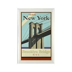 Travel New York Rectangle Magnet (10 pack)