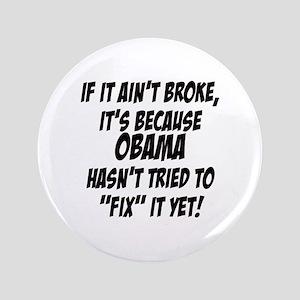 "Anti Obama 3.5"" Button"