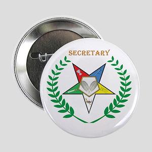 """OES Secretary 2.25"""" Button"""