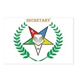 OES Secretary Postcards (Package of 8)