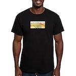 VU Meter Men's Fitted T-Shirt (dark)