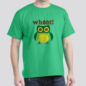 wh00t Goes The Owl Dark T-Shirt