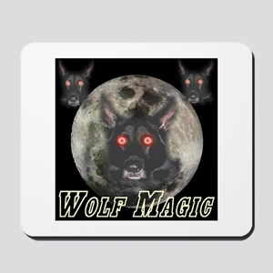 Wolf Magic Mousepad