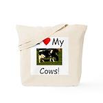 Love My Cows Tote Bag