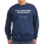 Flash me? Sweatshirt (dark)