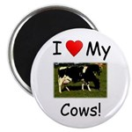 "Love My Cows 2.25"" Magnet (10 pack)"