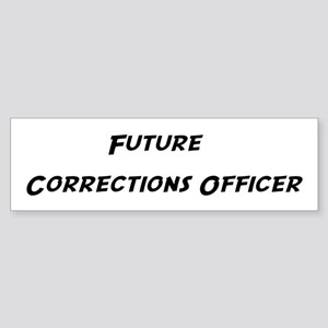 Future Corrections Officer Bumper Sticker