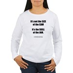 Size of the Cam Women's Long Sleeve T-Shirt