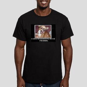 rabies Men's Fitted T-Shirt (dark)