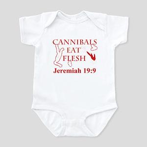 CANNIBALS EAT FLESH Infant Bodysuit