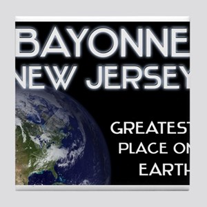 bayonne new jersey - greatest place on earth Tile