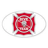 Rescue diver Stickers