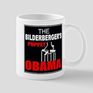 """Obama The Bilderberger's Puppet"" Mug"