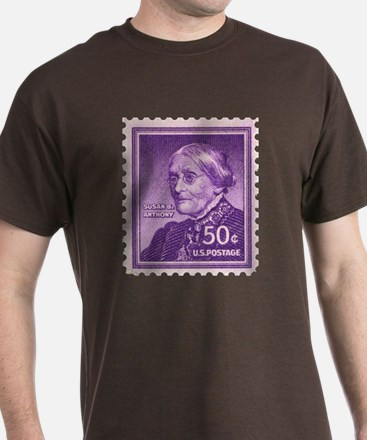 Susan B Anthony 50 Cent Stamp T-Shirt