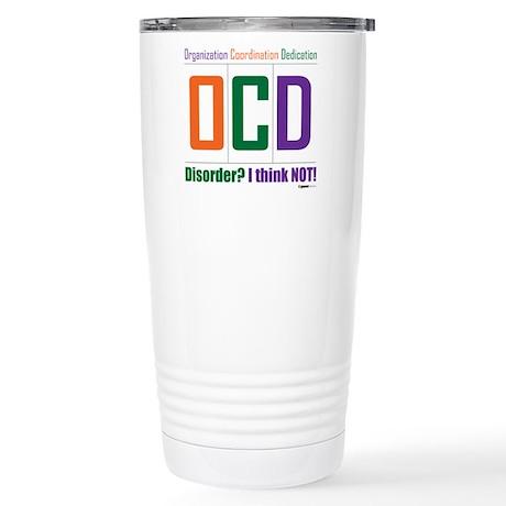 Celebrate OCD Stainless Steel Travel Mug