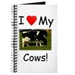 Love My Cows Journal