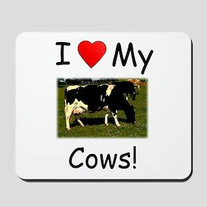 Love My Cows Mousepad