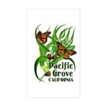 Pacific Grove Monarchs Rectangle Sticker