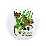 """Pacific Grove Monarchs 3.5"""" Button"""