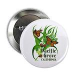 """Pacific Grove Monarchs 2.25"""" Button"""