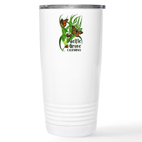 Pacific Grove Monarchs Stainless Steel Travel Mug