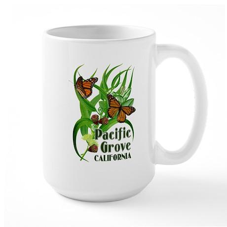 Pacific Grove Monarchs Large Mug