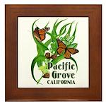 Pacific Grove Monarchs Framed Tile