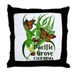 Pacific Grove Monarchs Throw Pillow