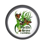Pacific Grove Monarchs Wall Clock