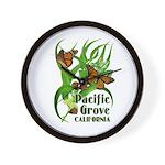 Pacific Grove Monarchs Wall Clock