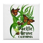 Pacific Grove Monarchs Tile Coaster