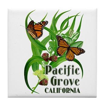 Pacific Grove Monarchs Tile Coaster