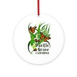 Pacific Grove Monarchs Ornament (Round)