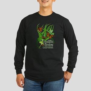 Pacific Grove Monarchs Long Sleeve Dark T-Shirt