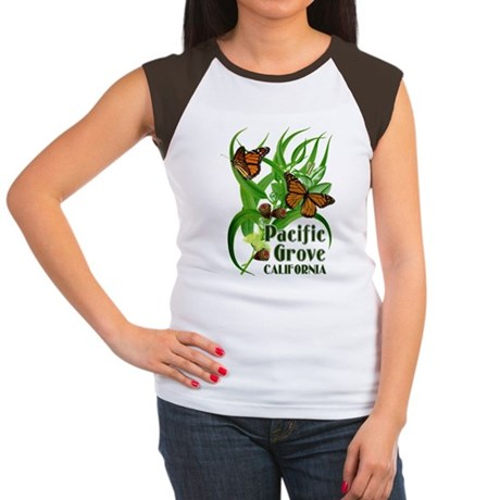 Pacific Grove Monarchs Women's Cap Sleeve T-Shirt