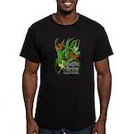 Pacific Grove Monarchs Men's Fitted T-Shirt (dark)