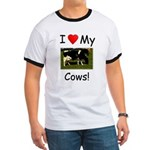 Love My Cows Ringer T