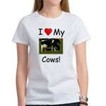 Love My Cows Women's T-Shirt