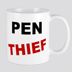Funny PEN THIEF Office Humor Mug