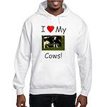 Love My Cows Hooded Sweatshirt