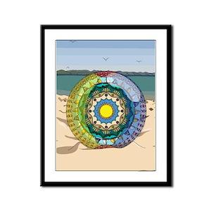 Summer Sunshine Framed Panel Print