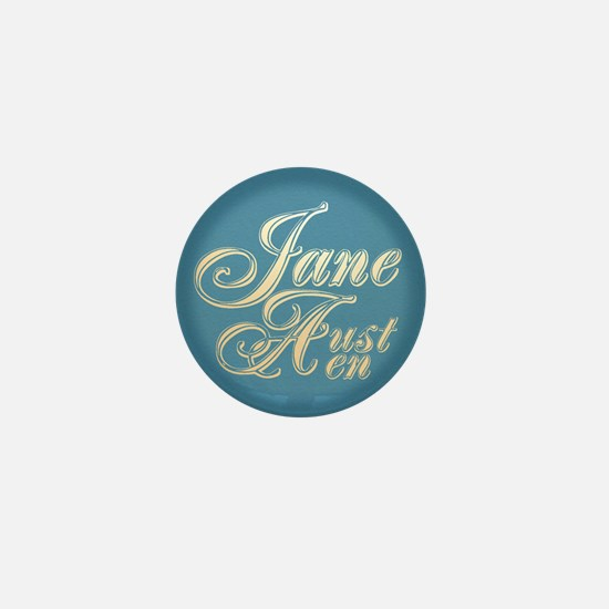 Jane Austen Mini Button